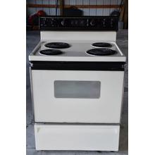 "GE 30"" Freestanding Coil Electric Range"