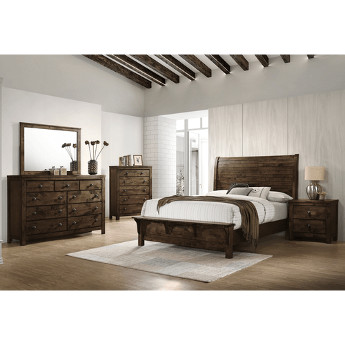 New Classic Furniture - New Classic Rustic Brown/Gray