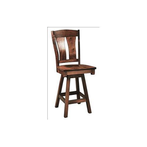 Amish Furniture - Omaha Stool
