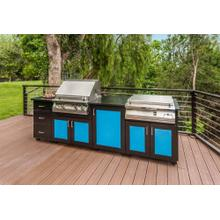 Grill & Large Beverage Center Island