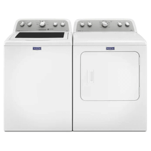 Maytag 4.3-cu ft High-Efficiency Top-Load Washer &  7.0-cu ft Vented Electric Dryer