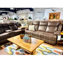 See Details - Round-Up Chocolate Reclining Sofa & Loveseat