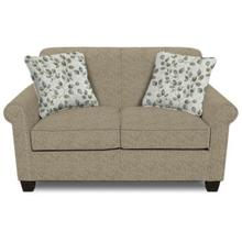 Angie Loveseat 4636 - Brentwood Pepper/Leigh Fog Pillows