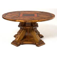 Mustang Canyon Deluxe Pedestal Table Round