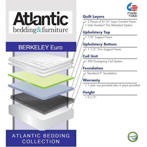 Atlantic Bedding Collection - Berkeley - Euro Top