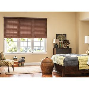 Graber 3 On 1 Head-rail Cordless Cellular Blinds Cappuccino 118 3/8 x 59 (Originally $625.00 )