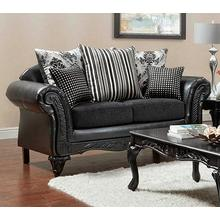 View Product - Wood Trimmed Loveseat