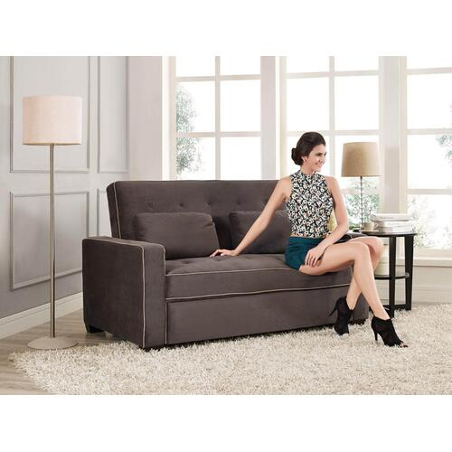 Marina Convertible Sofa Java