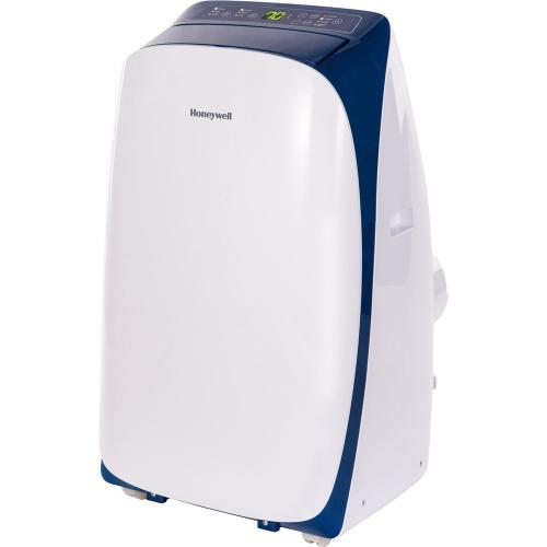 Honeywell HL12CESWB Portable Air Conditioner 12,000 BTU Cooling, With Dehumidifier And Remote (White-Blue)