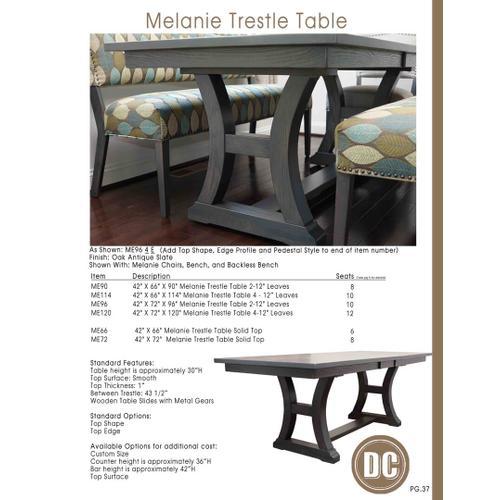 Door County Furniture - Melanie Table