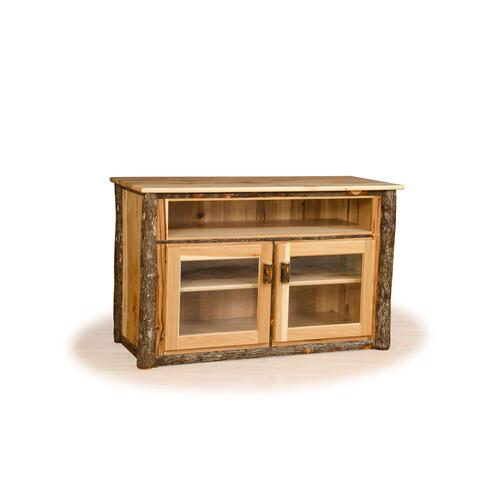 Brage Rustic Collection - Hickory TV Stand