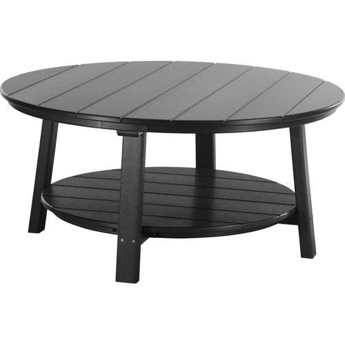 Deluxe Conversation Table Black
