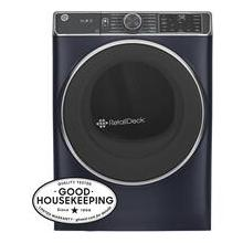 See Details - GE® 7.8 cu. ft. Capacity Smart Front Load Electric Dryer with Steam and Sanitize Cycle