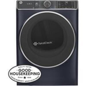 GE Appliances - GE® 7.8 cu. ft. Capacity Smart Front Load Electric Dryer with Steam and Sanitize Cycle
