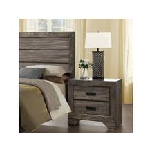 See Details - Nathan Rustic Nightstand