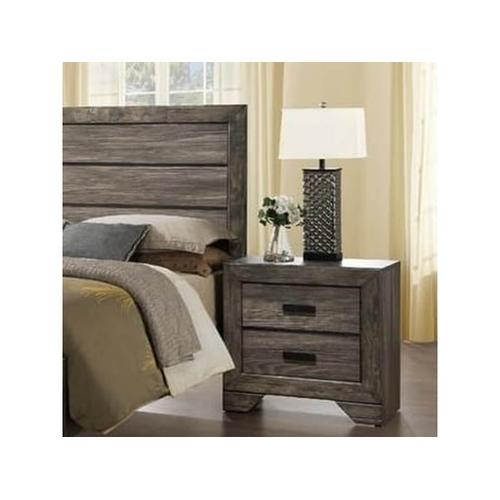Elements - Nathan Rustic Nightstand