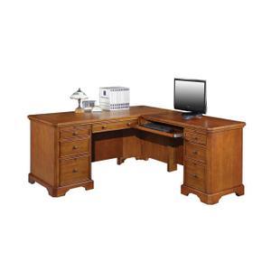 "Topaz 66"" Desk with 44"" Return"