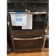 """See Details - GE 30"""" Electric Double Wall Oven JT5500EJESS (FLOOR MODEL)"""