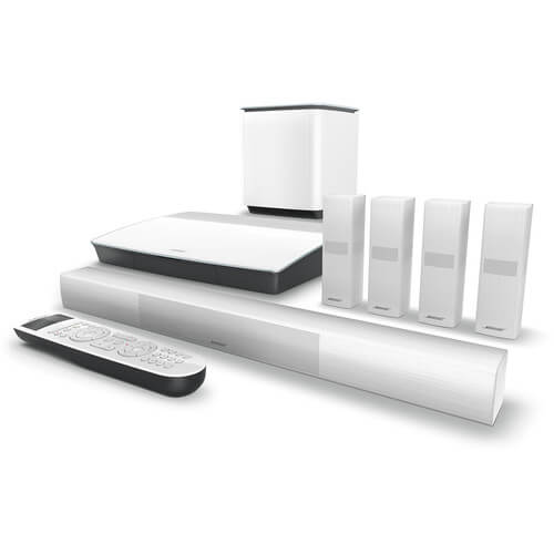 Bose Lifestyle 650 Home Theater System with OmniJewel Speakers (White)  761683-1210
