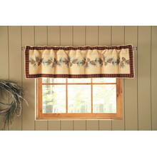 Pine Lodge Valance/Runner