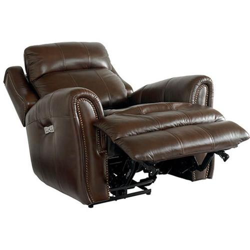 Marquee Wallsaver Recliner w/ Power in Chocolate