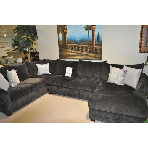 Klaussner 3 Piece Sectional