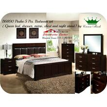 Crown Mark Furniture B6890 Pasha Bedroom set Houston Texas USA Aztec Furniture