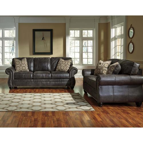 Ashley Furniture - Breville Charcoal Loveseat