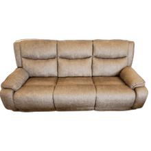 View Product - Fabric Reclining Sofa- Bombshell Mocha