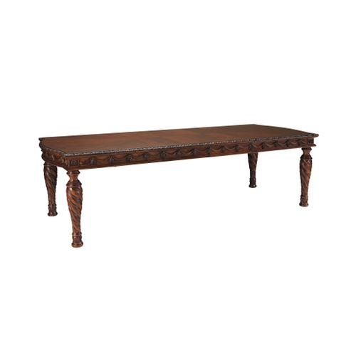 North Shore Brown Finish 7 Pc Formal Dining Room by Ashley, Model D553