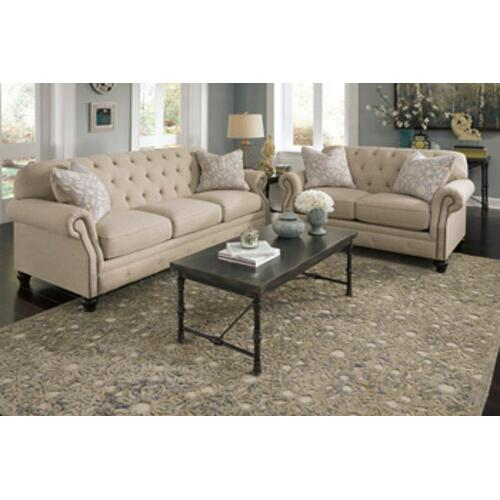 Kieran- Natural Sofa and Loveseat
