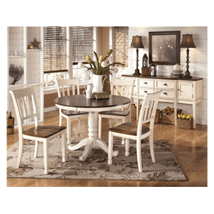 Gallery - Whitesburg Round Table w/4 chairs
