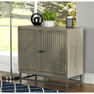 Mango Wood Accent Cabinet