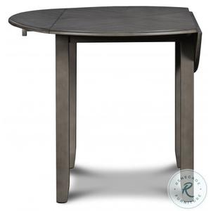 Gia 3 Pc Grey Drop Leaf Dinette Set by New Classic, Model D1701-40