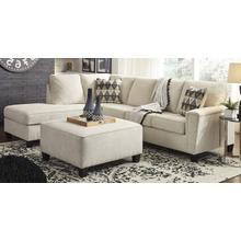 View Product - 2-piece Sectional With Ottoman