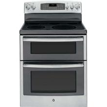 """See Details - On Display! GE® 30"""" FREE-STANDING ELECTRIC DOUBLE OVEN RANGE"""