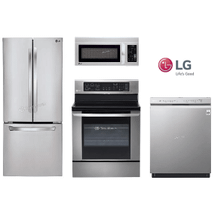LG Package with 30'' wide refrigerator