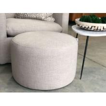 Product Image - Sharon Round Linen Ottoman