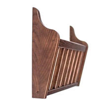 Mission Wall Rack, Chestnut
