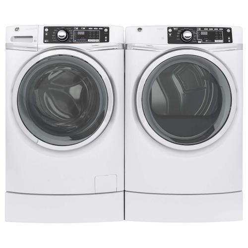 GE Front Load Laundry Package With Gas Dryer In White