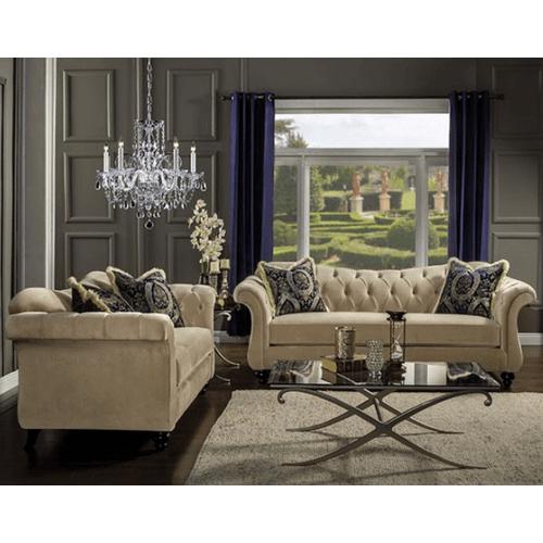 Antoinette Sofa and Love Seat