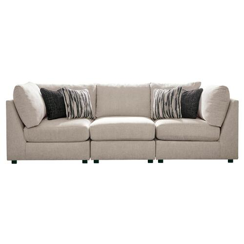 Kellway - Bisque - 3-Piece Sectional