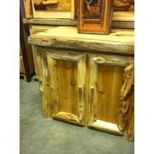 White Cedar Storage Cabinet