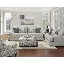 Alton Silver Sofa & Chair and a Half