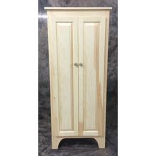 See Details - Maine Made 5 Foot Double Jelly Cabinet 26W X 60H X 14D Pine Unfinished