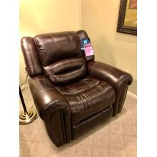 Flexsteel- Crosstown Leather Power Headrest Recliner