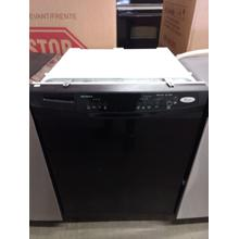WHIRLPOOL® 24-INCH BUILT-IN DISHWASHER (COLOR: BLACK ON BLACK)  ENERGY STAR® (This may be a Stock Photo, actual unit (s) appearance may contain cosmetic blemishes. Please call store if you would like additional pictures). This unit carries our 6 Month warranty, MANUFACTURER WARRANTY and REBATE NOT VALID with this item. ISI 39142