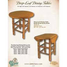Drop- Leaf Dining Tables