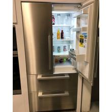 "36"" Panel-Ready French Door Large Capacity Refrigerator With Ice Maker"