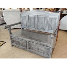 JM-SAL 13  Storage Bench - Gray
